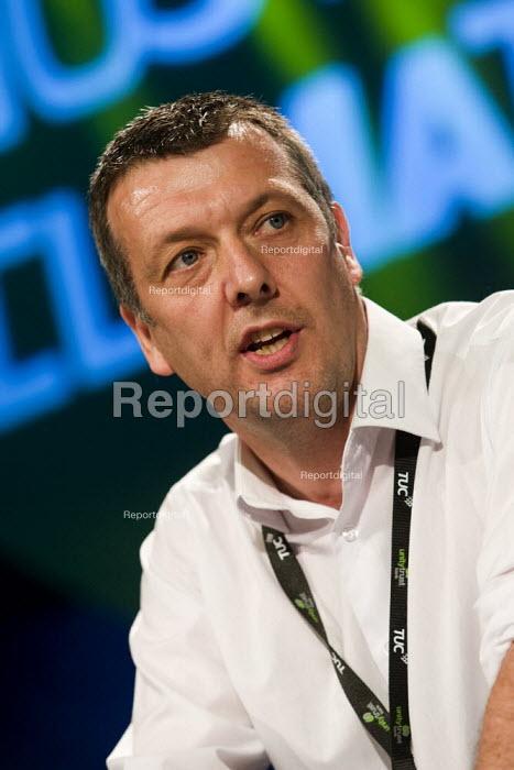 Jeremy Dear NUJ. TUC Conference, Liverpool. - Jess Hurd - 2009-09-15