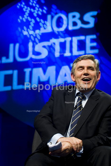 Gordon Brown speaks at TUC Conference, Liverpool. - Jess Hurd - 2009-09-15