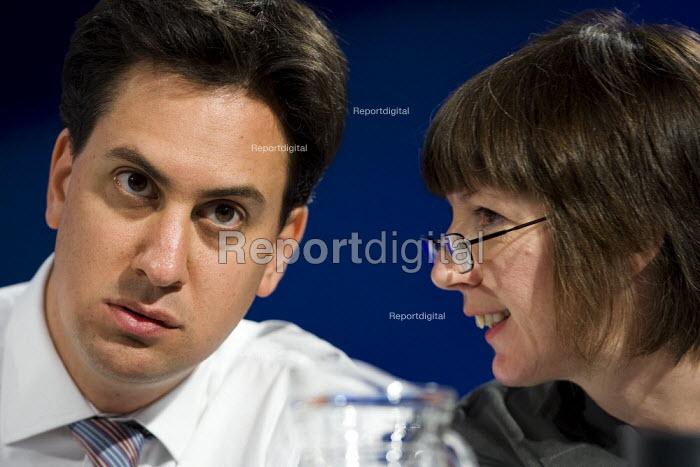 Ed Miliband MP and Frances O'Grady. TUC Conference, Liverpool. - Jess Hurd - 2009-09-16