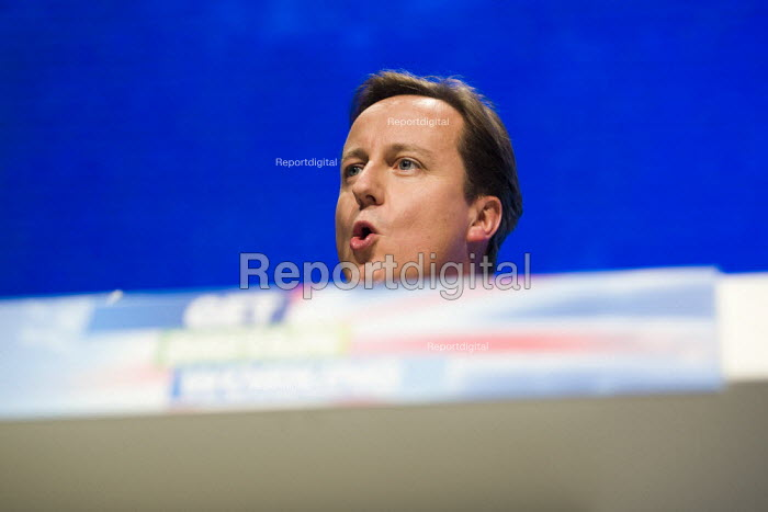 David Cameron MP. Conservative Party Conference 2009. Manchester. - Jess Hurd - 2009-10-05