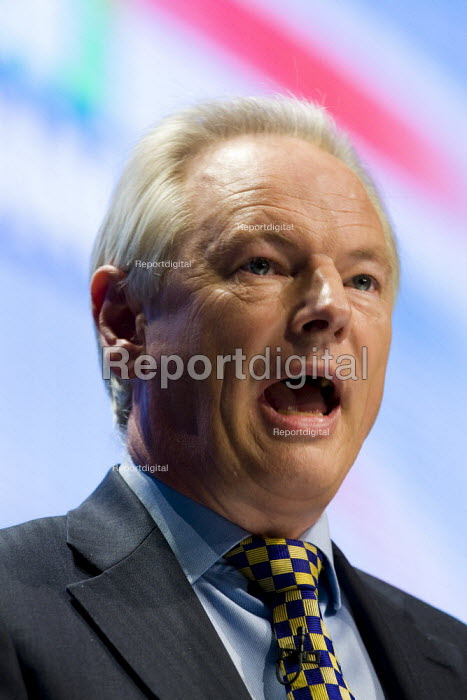 Francis Maude MP. Conservative Party Conference 2009. Manchester. - Jess Hurd - 2009-10-05