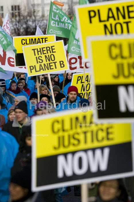 Protests against COP15 United Nations Climate Change Conference, Copenhagen 2009, Denmark. - Jess Hurd - 2009-12-12