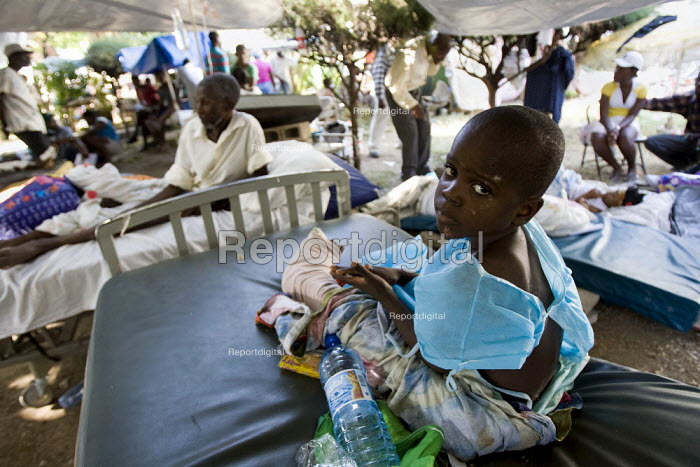 Haiti earthquake. - Jess Hurd - 2010-01-18