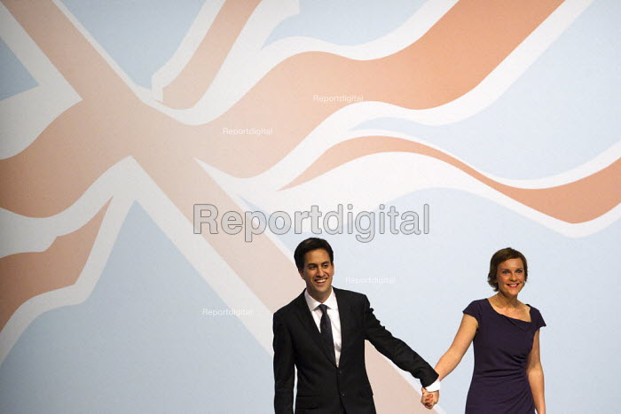 Ed and Justine Miliband. Labour Conference, Liverpool 2011. - Jess Hurd - 2011-09-27