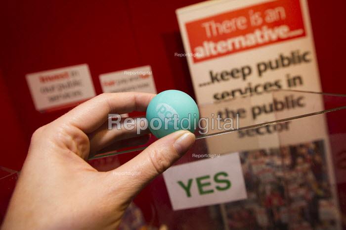 PCS stand. Labour Conference, Liverpool 2011. - Jess Hurd - 2011-09-28
