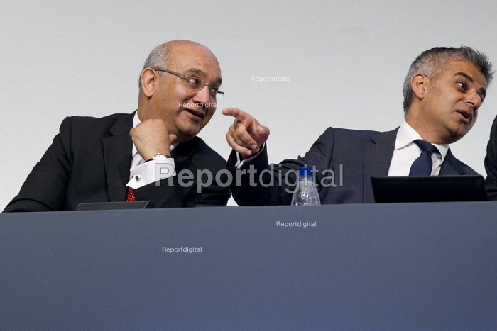 Sadiq Khan MP anf Keith Vaz. Labour Conference, Liverpool 2011. - Jess Hurd - 2011-09-28
