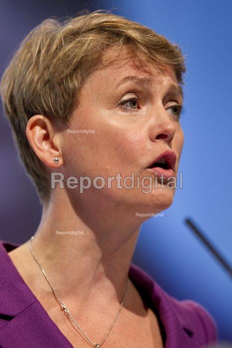 Yvette Cooper MP. Labour Conference, Liverpool 2011. - Jess Hurd - 2011-09-28