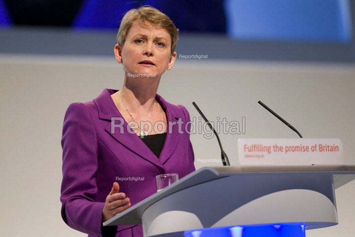 Yvette Cooper MP. Labour Conference, Liverpool 2011. - Jess Hurd - 2011-09-28
