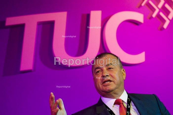 Brendan Barber. TUC London. - Jess Hurd - 2011-09-12