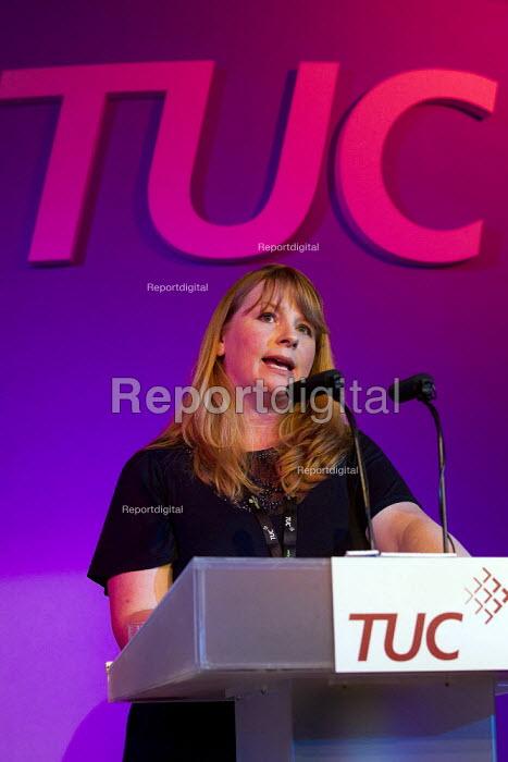 Michelle Stanistreet NUJ. TUC London. - Jess Hurd - 2011-09-12