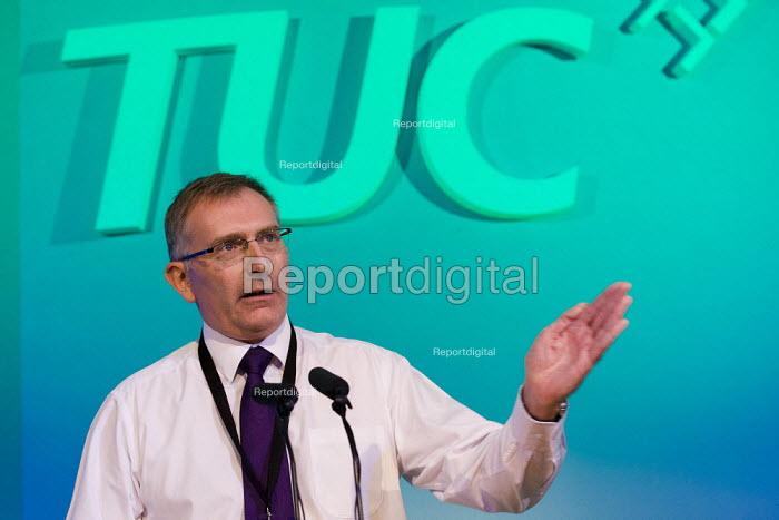Brian Strutton BALPA speaking, TUC 2011 London - Jess Hurd - 2011-09-14