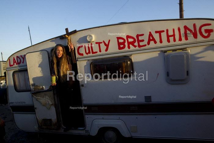 Dale Farm eviction, Basildon. London. - Jess Hurd - 2011-10-19