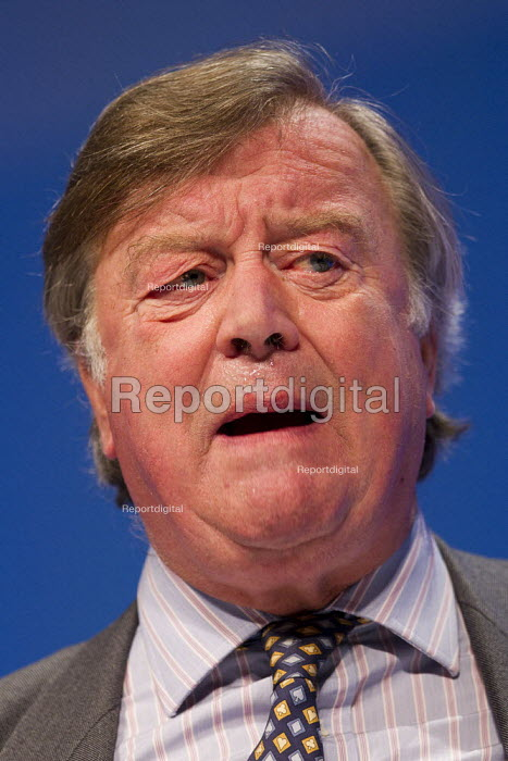 Kenneth Clarke MP. Conservative Party Conference, Manchester, 2011. - Jess Hurd - 2011-10-04