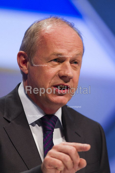 Damian Green MP. Conservative Party Conference, Manchester, 2011. - Jess Hurd - 2011-10-04