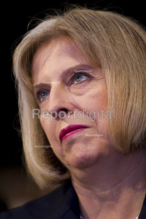 Theresa May MP. Conservative Party Conference, Manchester, 2011. - Jess Hurd - 2011-10-04