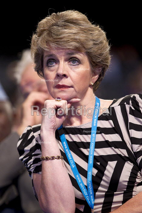 Tory delegates. Conservative Party Conference, Manchester, 2011. - Jess Hurd - 2011-10-04