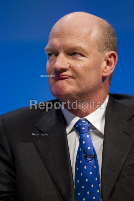 David Willetts MP. Conservative Party Conference, Manchester, 2011. - Jess Hurd - 2011-10-04