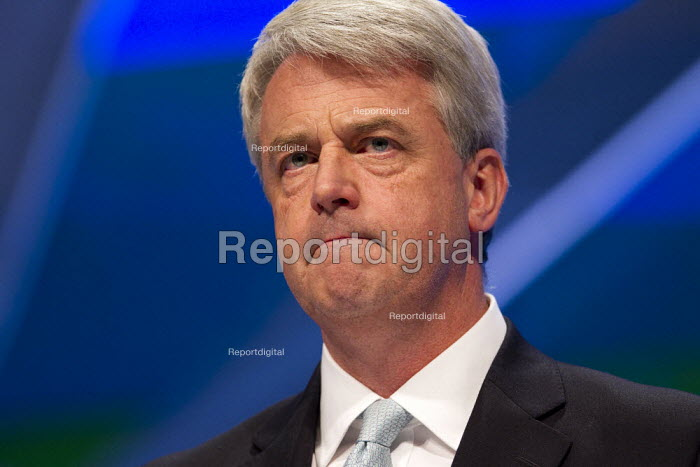 Andrew Lansley MP. Conservative Party Conference, Manchester, 2011. - Jess Hurd - 2011-10-04