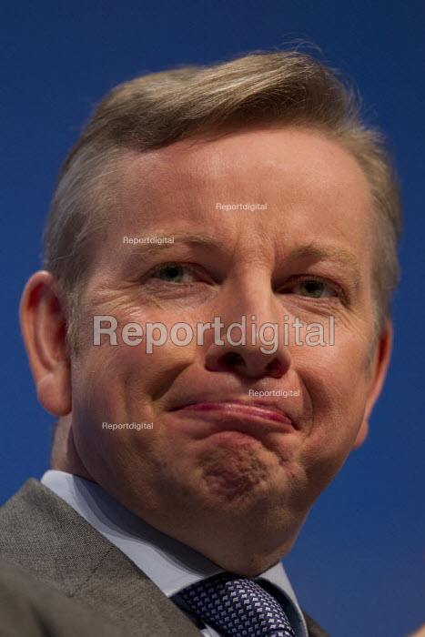 Michael Gove MP. Conservative Party Conference, Manchester, 2011. - Jess Hurd - 2011-10-04
