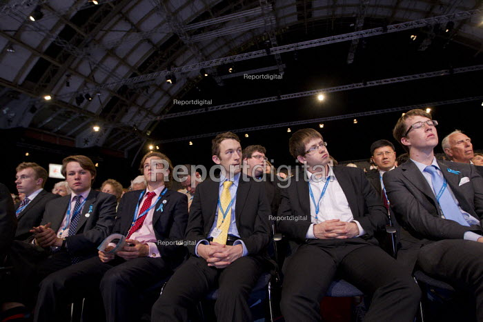 Tory youth. Conservative Party Conference, Manchester, 2011. - Jess Hurd - 2011-10-04