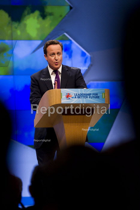 David Cameron Prime Minister. Conservative Party Conference, Manchester, 2011. - Jess Hurd - 2011-10-05