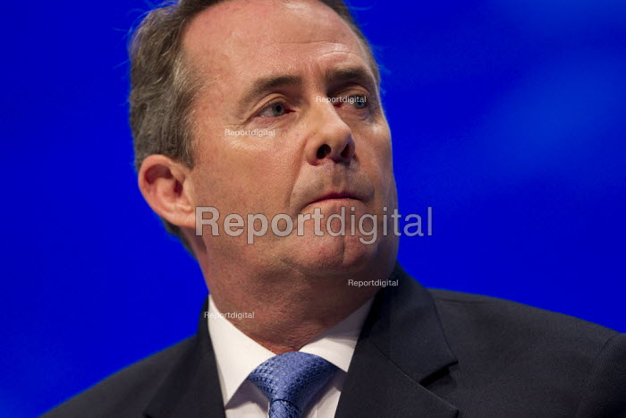 Dr Liam Fox MP. Conservative Party Conference, Manchester, 2011. - Jess Hurd - 2011-10-05