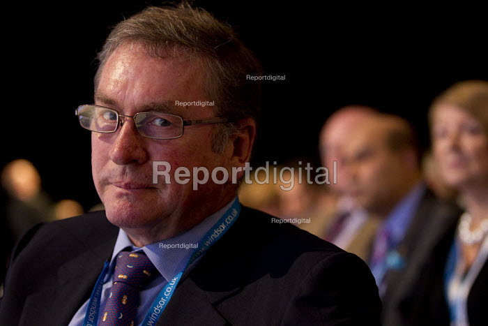 Lord Ashcroft. Conservative Party Conference, Manchester, 2011. - Jess Hurd - 2011-10-05