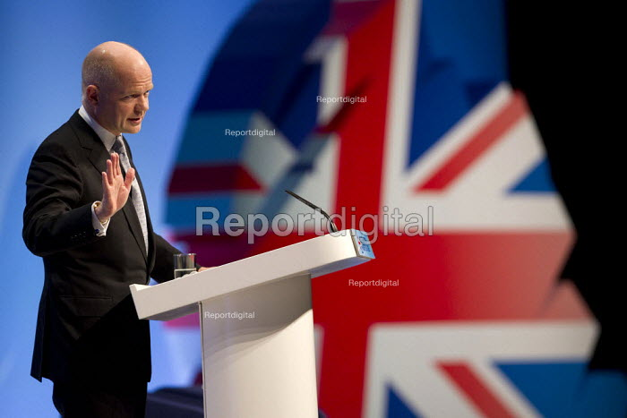 William Hague MP. Conservative Party Conference, Manchester, 2011. - Jess Hurd - 2011-10-05