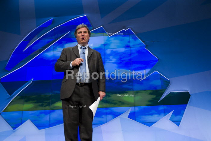 Oliver Letwin MP. Conservative Party Conference, Manchester, 2011. - Jess Hurd - 2011-10-05