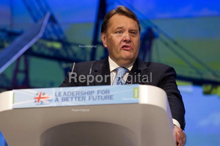 John Hayes MP. Conservative Party Conference, Manchester, 2011. - Jess Hurd - 2011-10-03