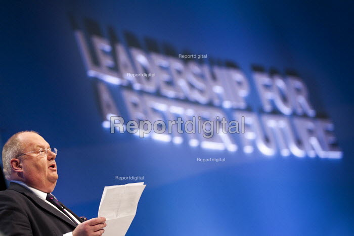 Eric Pickles MP. Conservative Party Conference, Manchester, 2011. - Jess Hurd - 2011-10-03