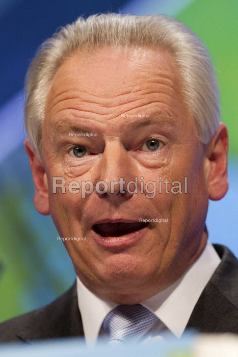 Francis Maude MP. Conservative Party Conference, Manchester, 2011. - Jess Hurd - 2011-10-03