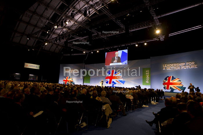 Boris Johnson Mayor of London.Conservative Party Conference, Manchester, 2011. - Jess Hurd - 2011-10-04