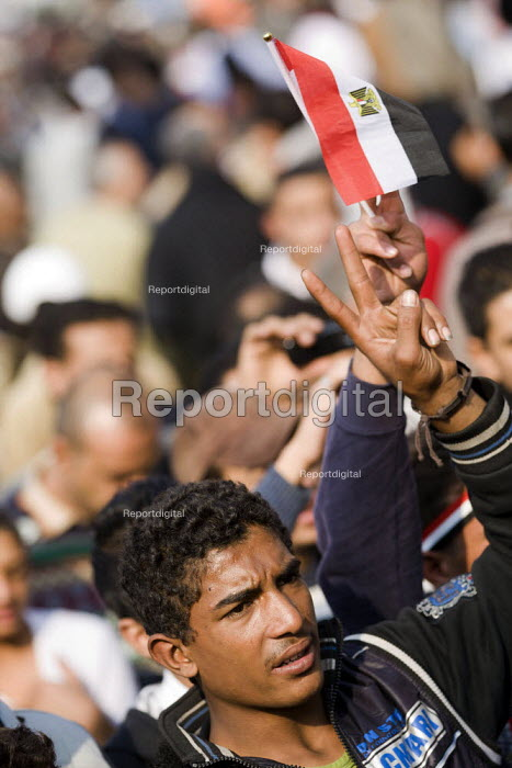 Election day protests against the military junta. Al-Tahrir (Liberation Square), Cairo, Egypt - Jess Hurd - 2011-11-28