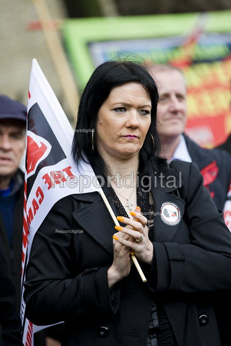 Health and Safety Day of Action. Workers International Memorial Day. London. - Jess Hurd - 2012-04-28
