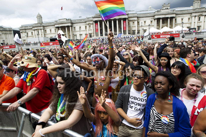 World Pride 2012, Trafalgar Square. London. - Jess Hurd - 2012-07-07