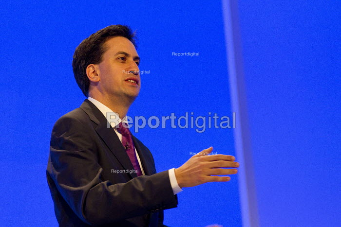 Ed Miliband MP. Labour Party Conference 2012, Manchester. - Jess Hurd - 2012-09-30