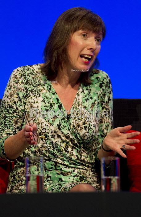 Frances O'Grady TUC Gen Sec. Labour Party Conference 2012, Manchester. - Jess Hurd - 2012-10-01