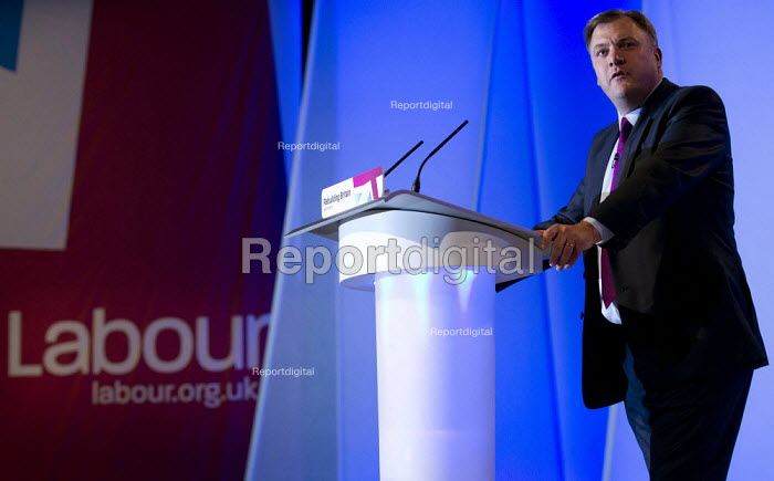 Ed Balls MP. Labour Party Conference 2012, Manchester. - Jess Hurd - 2012-10-01