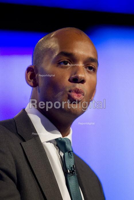 Chuka Umunna MP. Labour Party Conference 2012, Manchester. - Jess Hurd - 2012-10-01