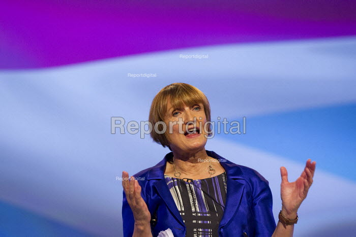 Tessa Jowell MP. Labour Party Conference 2012, Manchester. - Jess Hurd - 2012-10-02