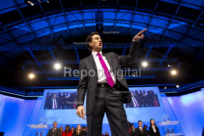 Ed Miliband MP - leaders speech. Labour Party Conference 2012, Manchester. - Jess Hurd - 2012-10-02