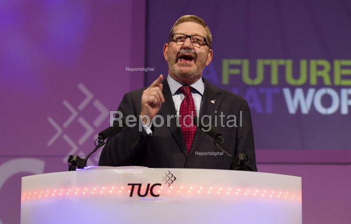 Len McCluskey Unite speaking. TUC 2012 Brighton. - Jess Hurd - 2012-09-09