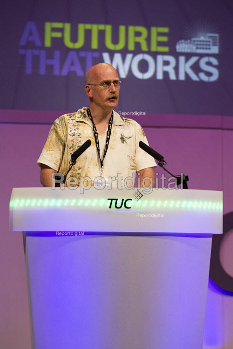 Phil Mills Bectu. TUC 2012 Brighton. - Jess Hurd - 2012-09-09