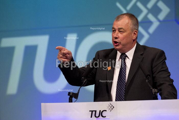 Brendan Barber. TUC 2012 Brighton. - Jess Hurd - 2012-09-10