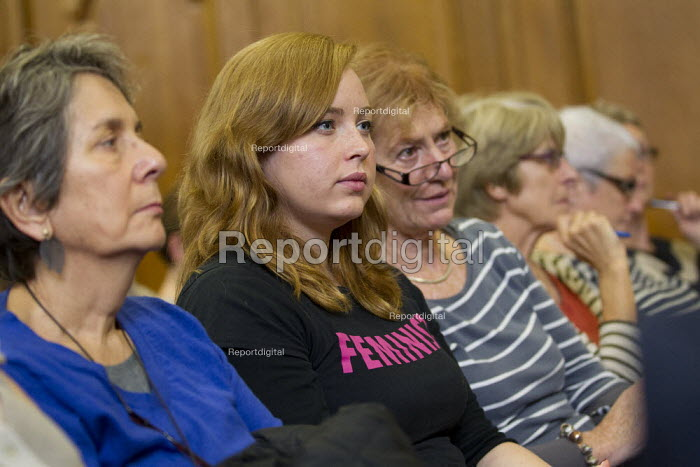 UK Feminista rally and lobby of Parliament, campaigning for gender equality. London. - Jess Hurd - 2012-10-24