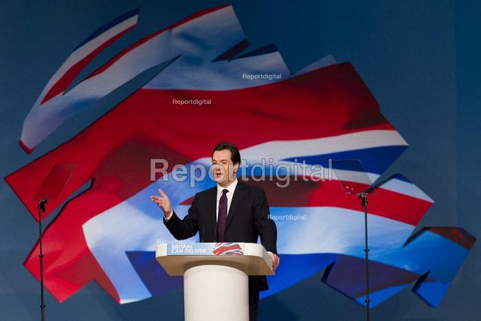 George Osborne MP. Conservative Party Conference 2012, Birmingham. - Jess Hurd - 2012-10-08