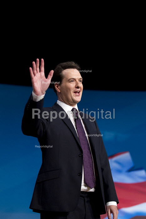 George Osborne MP. Conservative Party Conference 2012, Birmingham. - Jess Hurd - 2012-10-08