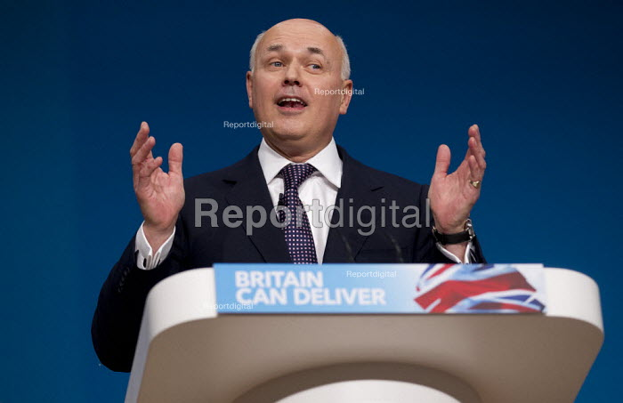 Iain Duncan Smith MP. Conservative Party Conference 2012, Birmingham. - Jess Hurd - 2012-10-08