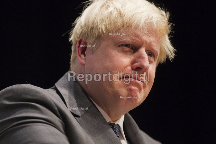 Boris Johnson, mayor of London. Conservative Party Conference 2012, Birmingham. - Jess Hurd - 2012-10-08
